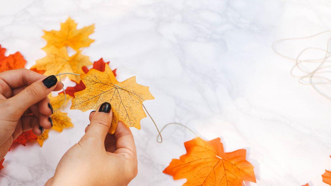 Gợi ý 5 trò chơi với lá mùa thu cho bé