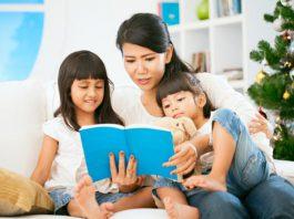 Cách chọn sách để đọc cho trẻ sơ sinh tới lớp 3 (Ảnh: Google Sites)