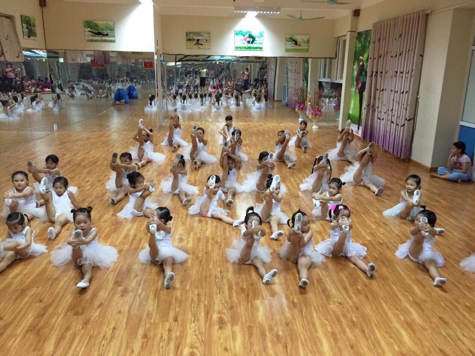 Cơ sở vật chất Học viện mầm non Sasuke tại quận Hoàng Mai, Hà Nội (Ảnh: FB trường)