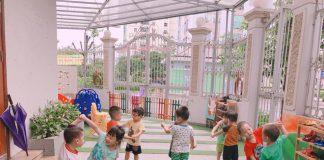 Học viện mầm non Sasuke tại quận Hoàng Mai, Hà Nội (Ảnh: FB trường)