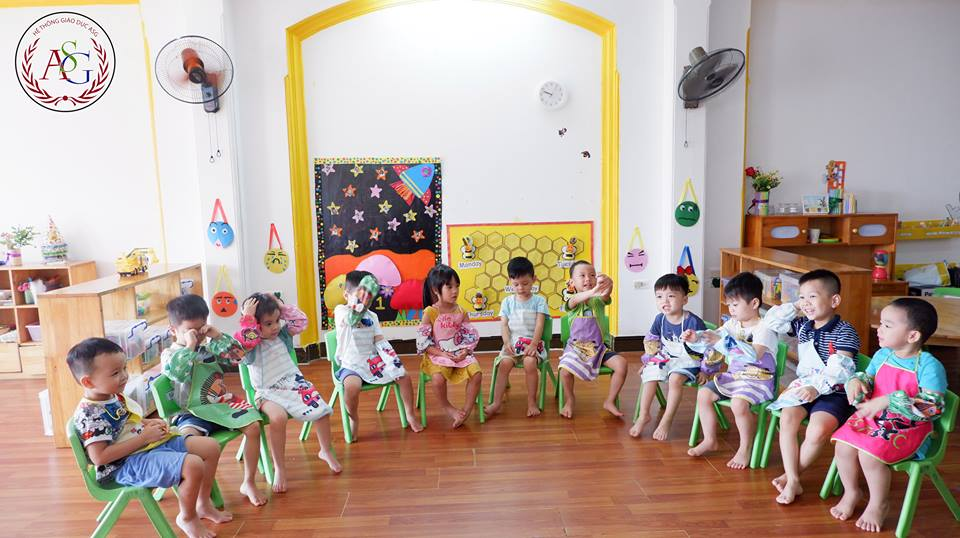 Cơ sở vật chất của trường mầm non American School - ASG tại 5 quận Hà Nội (Ảnh: FB trường)