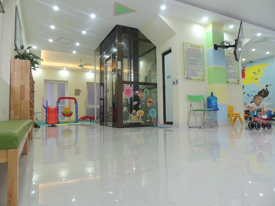 Cơ sở vật chất trường mầm non Thế giới Bé nhỏ - Tiny World tại quận Hà Đông, Hà Nội (Ảnh: FB trường)