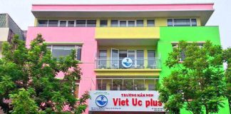 Cơ sở vật chất trường mầm non Việt Úc Plus tại quận Hà Đông, Hà Nội (Ảnh: FB trường)