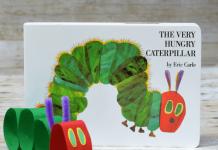 Chi tiết hoạt động đi kèm sách: The Very Hungry Caterpilar (Ảnh: playdoughtoplato.com)