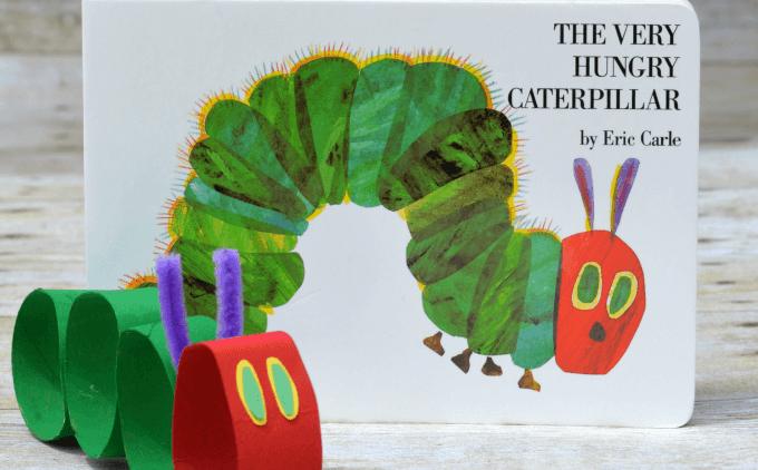 Chi tiết hoạt động đi kèm sách: The Very Hungry Caterpillar