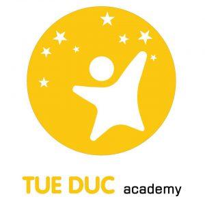 Logo trường mầm non Học viện Tuệ Đức tại quận Hoàng Mai, Hà Nội (Ảnh: FB trường)