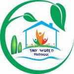 Logo trường mầm non Thế giới Bé nhỏ - Tiny World tại quận Hà Đông, quận Hoàng Mai, Hà Nội (Ảnh: FB trường)