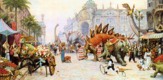 Những cuốn sách về khủng long khiến trẻ em mê tít (Ảnh: Dinotopia Wiki - Fandom)