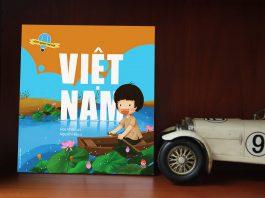 Sách về quê hương, đất nước cho bé dịp lễ 2/9 - Vòng quanh thế giới - Việt Nam (Ảnh: Adayroi)