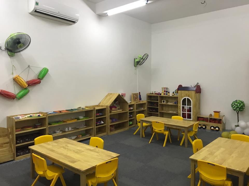 Cơ sở vật chất trường mầm non Bara Golden School tại quận Hoàn Kiếm, Hà Nội (Ảnh: FB trường)