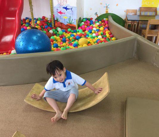 Cơ sở vật chất trường mầm non Gấu Baloo tại quận Tây Hồ, Hà Nội (Ảnh: FB trường)