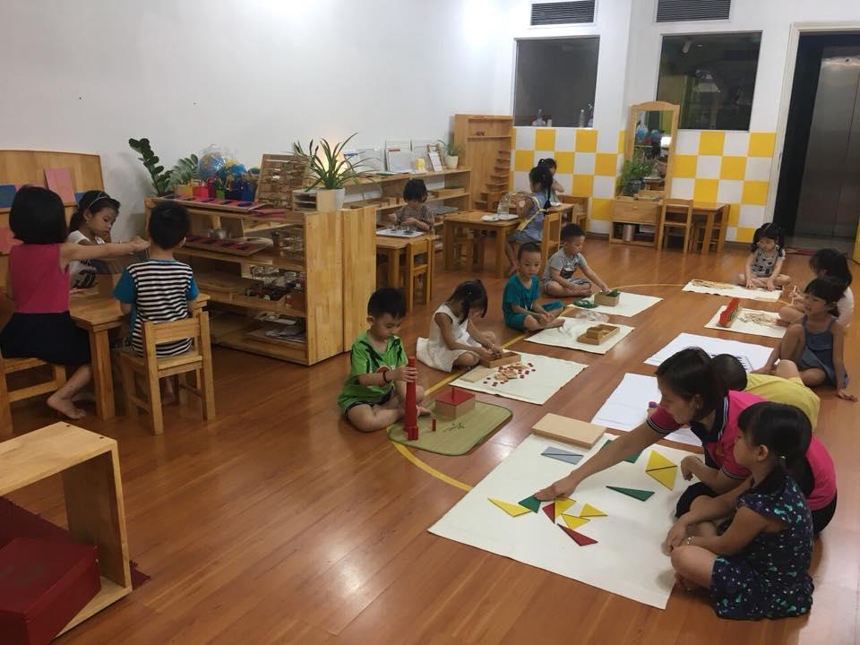 Cơ sở vật chất trường mầm non Le Macaron tại quận Đống Đa, Hà Nội (Ảnh: FB trường)