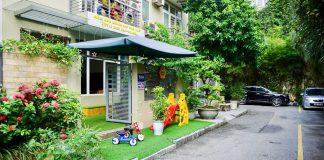 Cơ sở vật chất trường mầm non Little Bees - Những chú ong nhỏ tại quận Cầu Giấy, Hà Nội (Ảnh: FB trường)