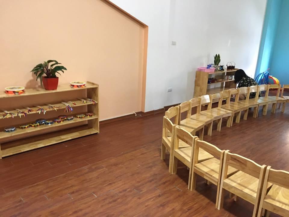 Cơ sở vật chất trường mầm non Ngôi sao Victoria tại quận Tây Hồ, Hà Nội (Ảnh: FB trường)