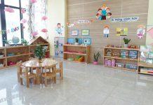 Cơ sở vật chất trường mầm non Ruby Kids tại quận Hà Đông, Hà Nội (Ảnh: FB trường)