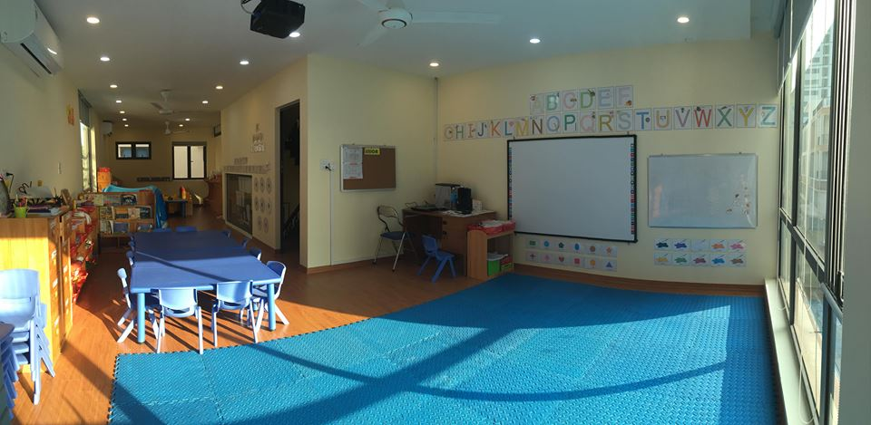 Cơ sở vật chất trường mầm non Trẻ Sáng Tạo - CK Kindergarten tại quận Hoàng Mai, Hà Nội (Ảnh: FB trường)
