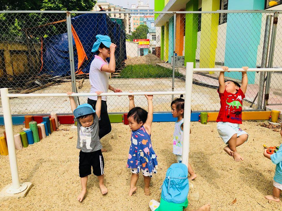 Cơ sở vật chất trường mầm non Tsubaki tại quận Bắc Từ Liêm và quận Hà Đông, Hà Nội (Ảnh: FB trường)