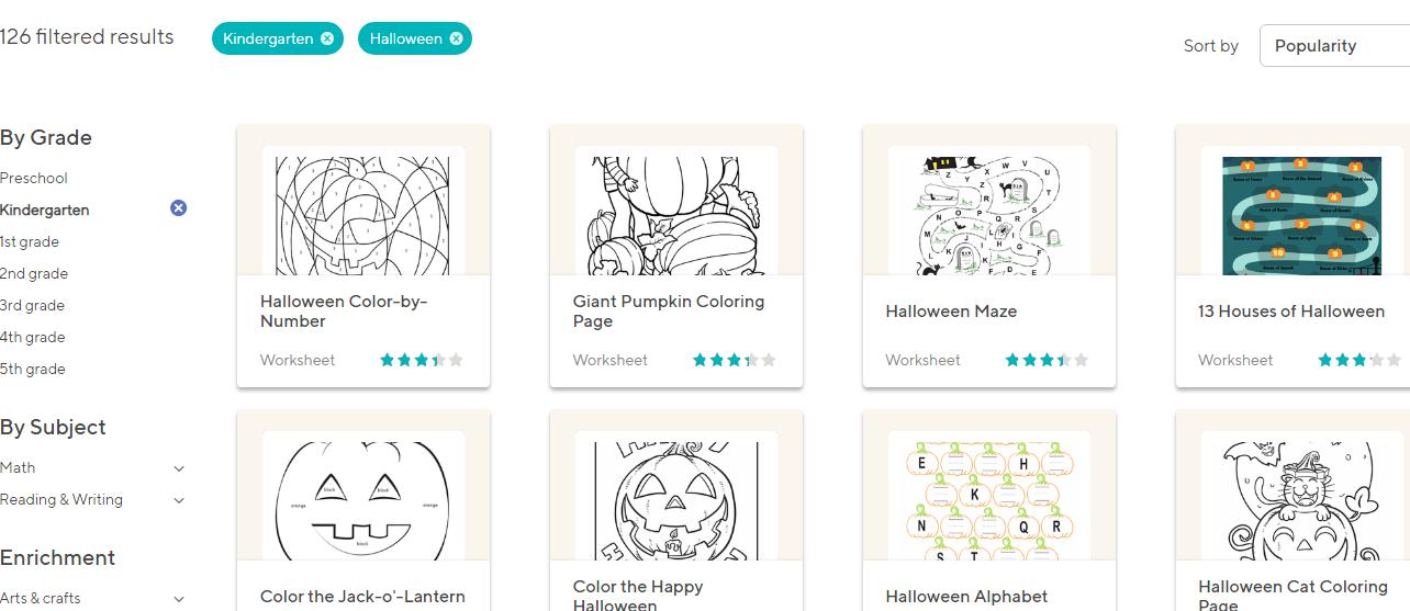 Tổng hợp trang web để tải miễn phí trò chơi, hoạt động Halloween (Ảnh: Education)
