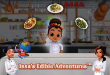 8 ứng dụng dạy trẻ môn địa lý (Ảnh: website Issa's Edible Adventures)