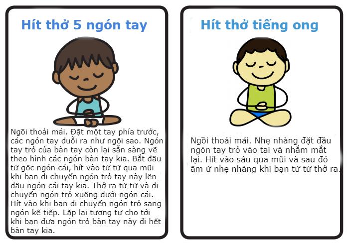 8 bài tập luyện thở giúp trẻ kiểm soát cảm xúc