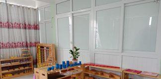 Cơ sở vật chất trường mầm non Quang Minh, quận Long Biên, Hà Nội (Ảnh: FB trường)