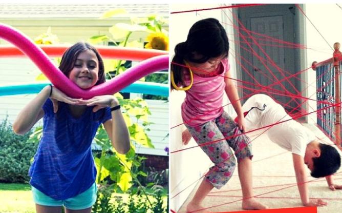 Những thử thách vượt chướng ngại vật cho trẻ - P1 (Ảnh: Playtivities)