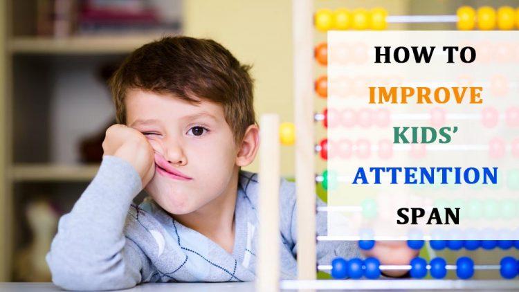 15 cách giúp tăng cường khả năng tập trung cho bé trai