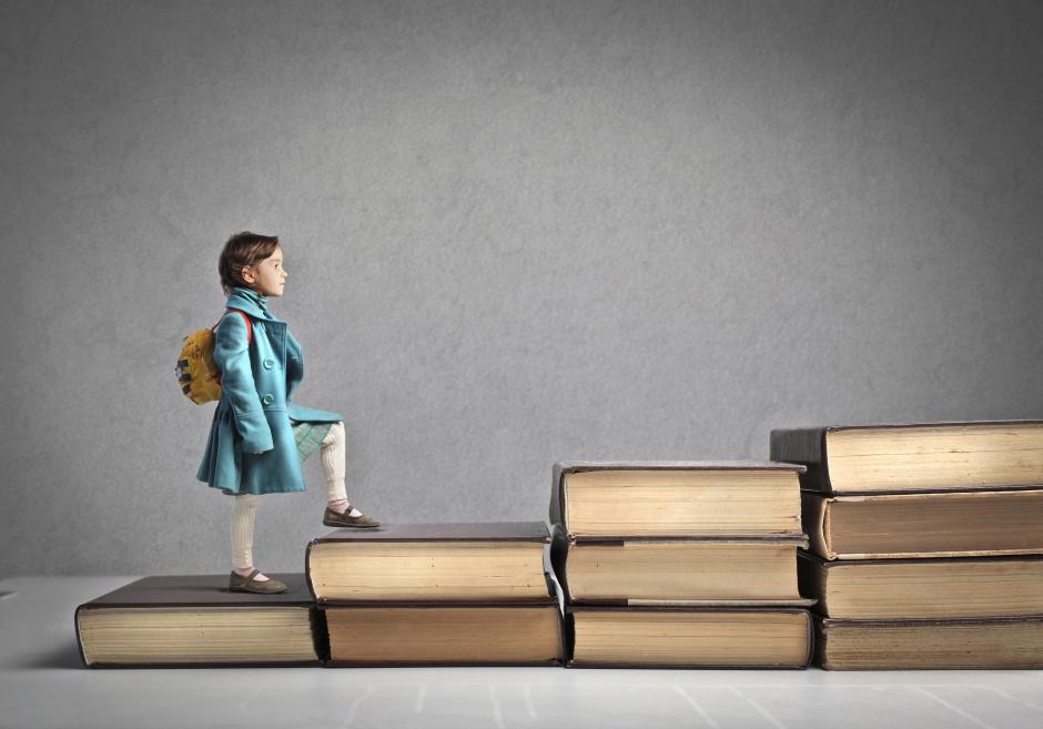 Dạy trẻ kiên gan bền chí, không bao giờ bỏ cuộc (Ảnh: Education Writers Association)