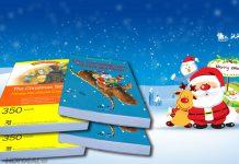 Sách Giáng sinh siêu đáng yêu cho bé (Ảnh: Hotdeal)