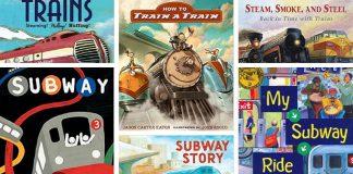 12 cuốn sách tiếng Anh về tàu hoả cho bé (Ảnh: We Are Teachers)