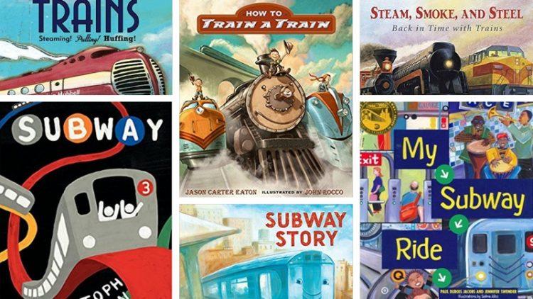 12 cuốn sách tiếng Anh về tàu hoả cho bé