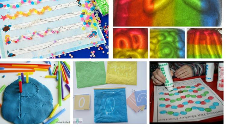 15 hoạt động siêu vui để bé mầm non tập viết chữ