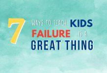 7 cách dạy trẻ thất bại là điều tuyệt vời (Ảnh: Big Life Journal)
