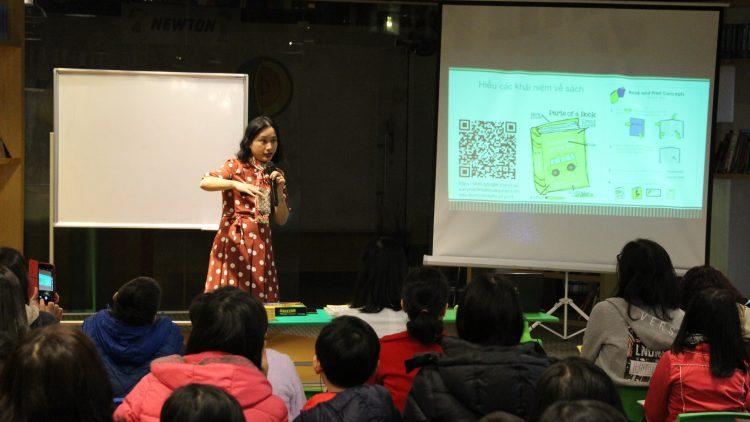 Hội thảo CÙNG CON GIỎI ĐỌC hướng dẫn cách giúp trẻ đọc bền vững và vui thích