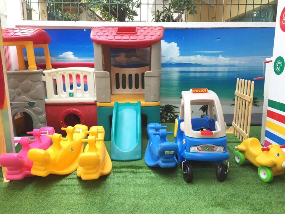 Cơ sở vật chất trường mầm non song ngữ Steamford Kids tại quận Thanh Xuân, Hà Nội (Ảnh: FB trường)