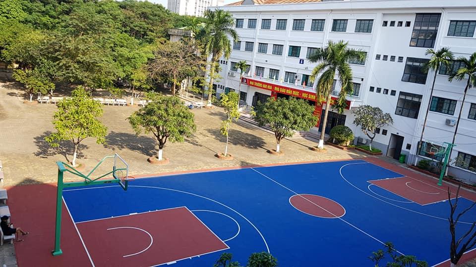 Cơ sở vật chất trường Tiểu học và THPT Phương Nam tại quận Hoàng Mai, Hà Nội (Ảnh: FB trường)