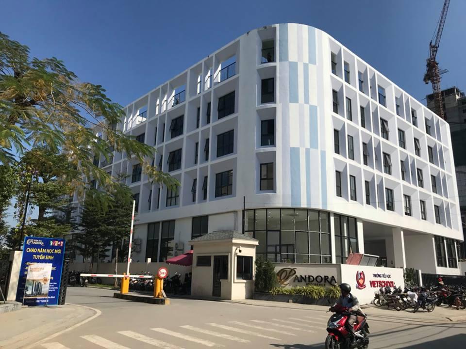 Cơ sở vật chất trường Tiểu học Vietschool Pandora tại quận Thanh Xuân, Hà Nội (Ảnh: FB trường)