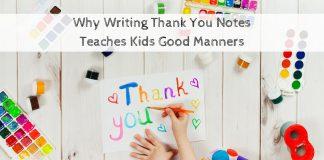 Dạy trẻ cách viết thư cảm ơn (Ảnh: Child Development Institute)
