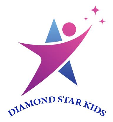 Logo trường mầm non Ngôi sao Kim Cương - Diamond Star Kids tại quận Nam Từ Liêm, Hà Nội (Ảnh: FB trường)