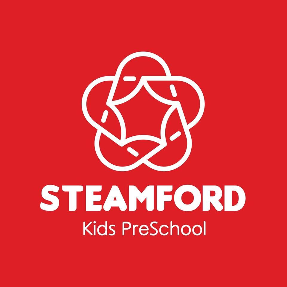 Logo trường mầm non song ngữ Steamford Kids tại quận Thanh Xuân, Hà Nội (Ảnh: FB trường)