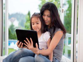 Hướng dẫn cha mẹ cách đọc e-book cùng con (Ảnh: Energise Kids)