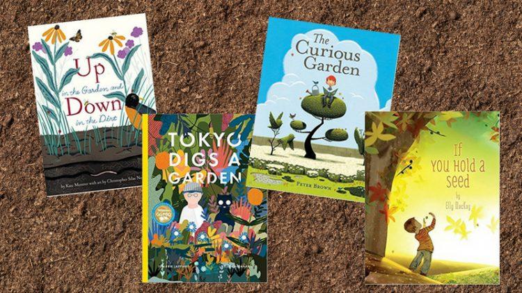 16 cuốn sách về làm vườn cho độc giả nhí
