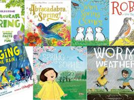 15 cuốn sách về mùa xuân tràn ngập màu sắc, âm thanh (Ảnh: We Are Teachers)