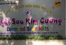 trường mầm non Ngôi sao Kim Cương - Diamond Star Kids tại quận Nam Từ Liêm, Hà Nội (Ảnh: FB trường)