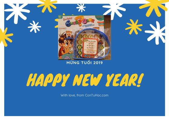 Ưu đãi năm mới 2019 Con Tự Học