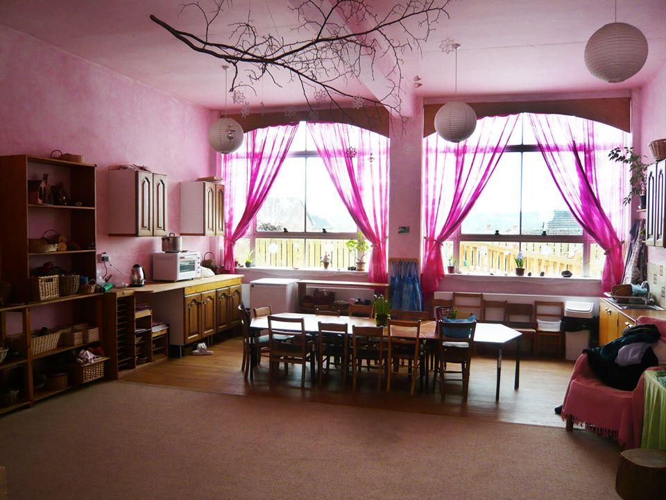 Cơ sở vật chất trường mầm non Bambusa tại quận Long Biên, Hà Nội (Ảnh: FB trường)