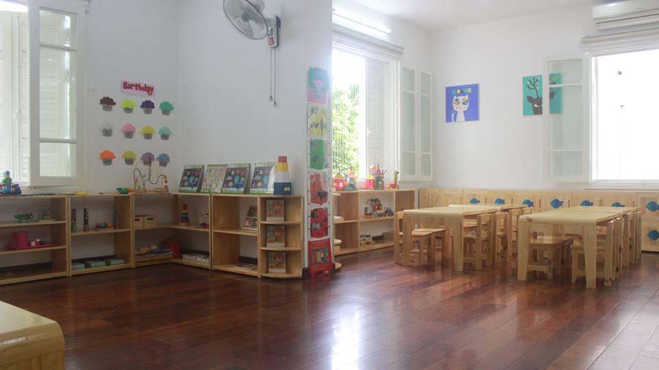 Cơ sở vật chất trường mầm non Ikids tại quận Đống Đa, Thanh Xuân, Hà Nội (Ảnh: FB trường)