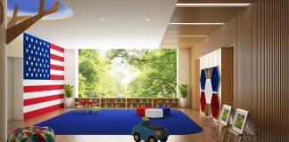 Cơ sở vật chất trường mầm non quốc tế Mỹ Rosemont tại quận Thanh Xuân, Hà Nội (Ảnh: FB trường)