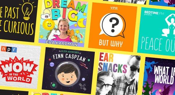 10 Podcast tiếng Anh hấp dẫn dành cho trẻ em (Ảnh: Fatherly)