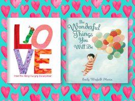 Sách về tình yêu dành cho bé 0-8 tuổi (Ảnh: Read Brightly)